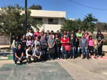 Docentes y prestadores de servicio social que participaron en el taller